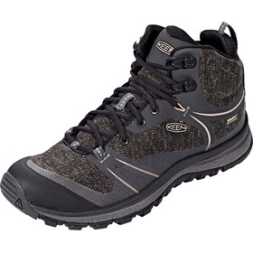 Keen Terradora Mid WP Shoes Women Raven/Rose Dawn